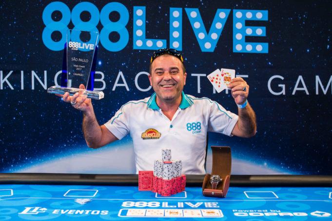 Haroldo Ferreira - Campeão 888Live São Paulo