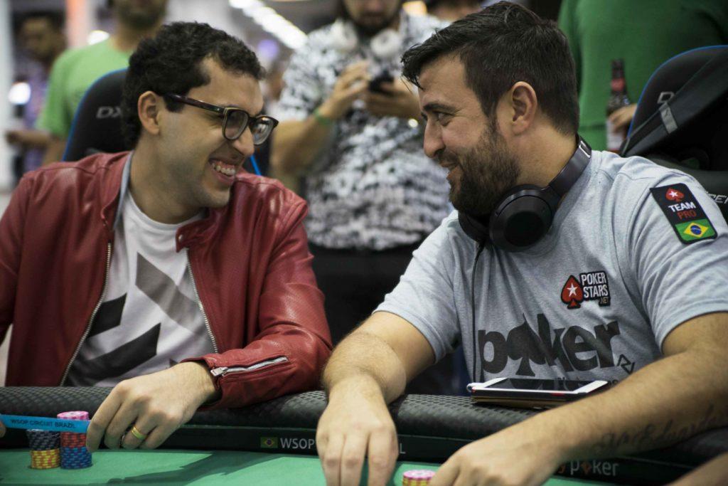 Rafael Moraes e André Akkari - WSOP Brazil