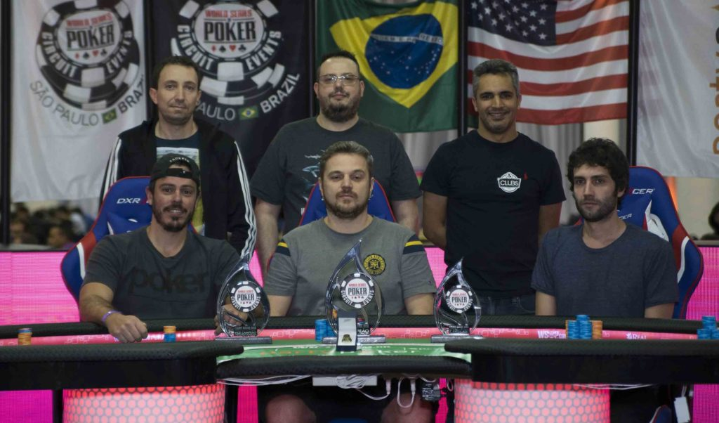 Mesa final 8-Game WSOP Brazil