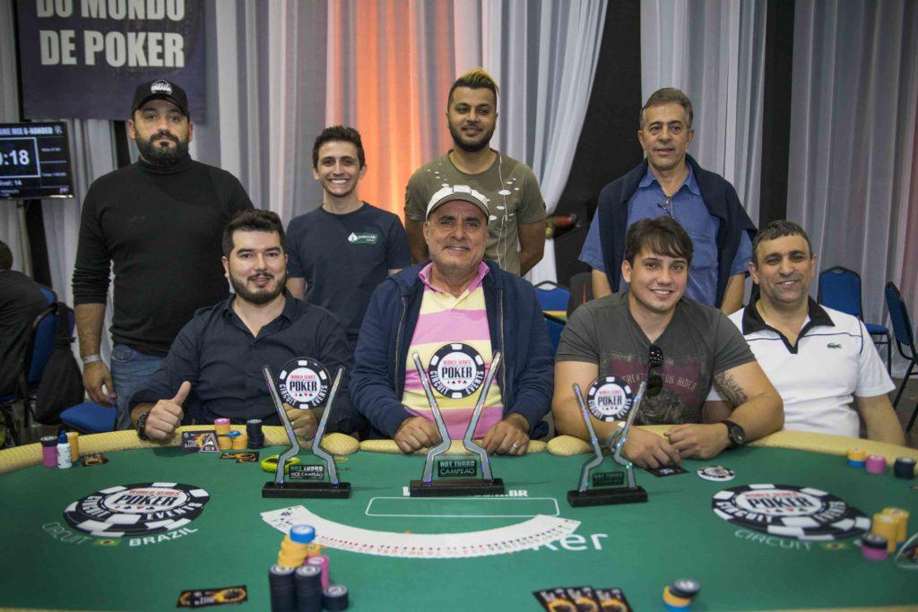 Mesa final Hot Turbo - WSOP Brazil