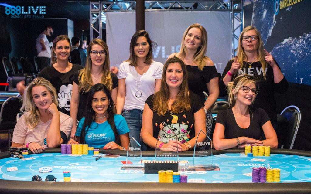 Mesa final Ladies Event - 888Live São Paulo