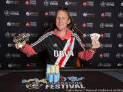 Andrés Cacho Korn - Campeão Evento 12 - PokerStars Festival Uruguai