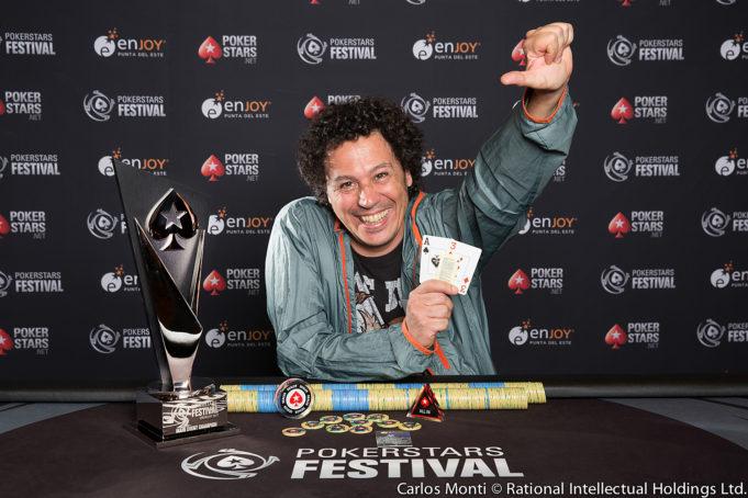 Julio Bartolo Belluscio - Campeão Main Event - PokerStars Festival Uruguai