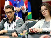 Rafael Moraes e Laurie Tournier