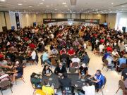 Salão cheio - BSOP100