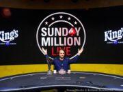 Phillip Salewski campeão Sunday Million Live