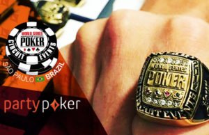 WSOP Brasil - anél