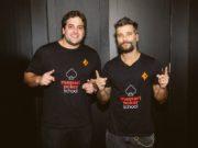 João Simão e Bruno Gagliasso - Team partypoker