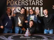 Aleksandr Merzhvinskiy é campeão do Main Event PokerStars Festival Sochi