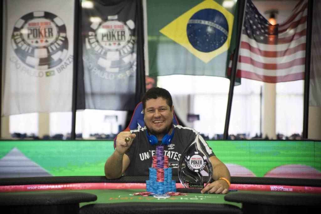 Jeferson Costa - Campeão Extra Life - WSOP Brazil
