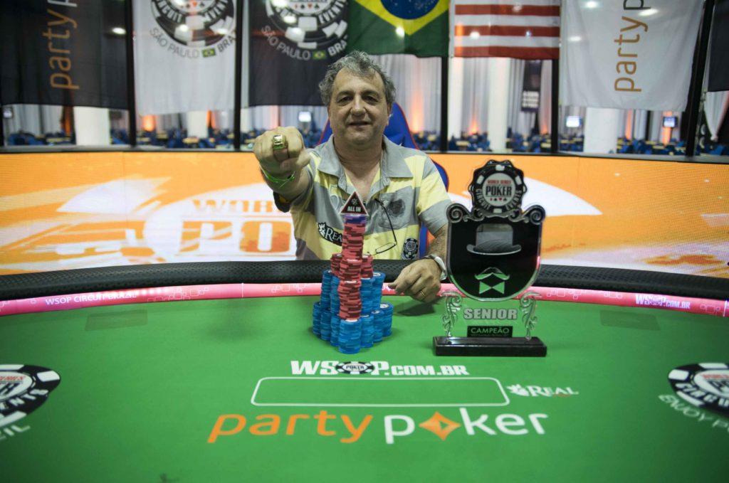 Lidison Aranha - Campeão Seniors - WSOP Brazil