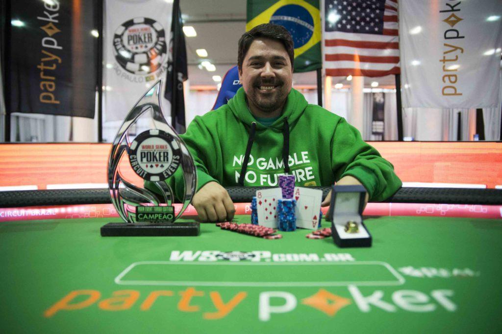 Marcos Antunes - Campeão Main Event Turbo - WSOP Brazil