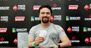 Adriano Fernandes - Campeão 6 Max - BSOP Curitiba