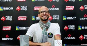 Alexandre Mantovani - Campeão 6 Handed Turbo Bounty - BSOP Curitiba