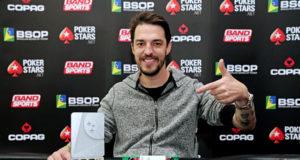 Helder Klaar - Campeão Last Chance Deepstack Turbo - BSOP Curitiba