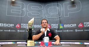 Gustavo Vascão - Campeão Main Event BSOP Curitiba