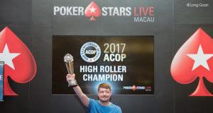 Dmitry Yurasov campeão do High Roller do ACOP