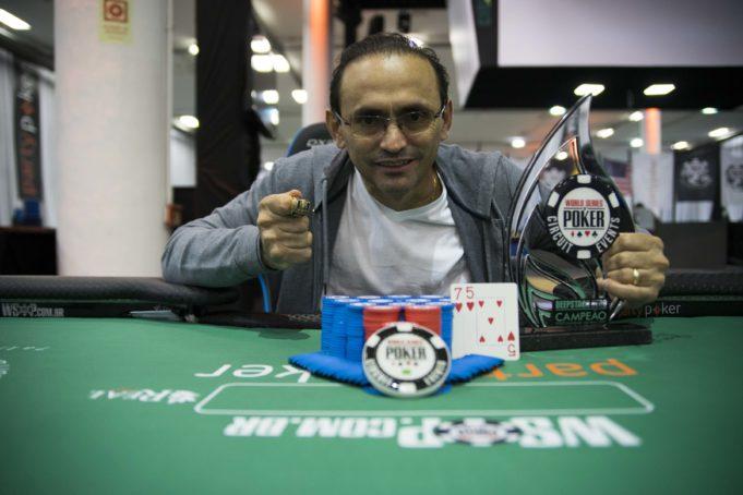 Oderlândio Moura - Campeão Deepstack Hero - WSOP Brazil