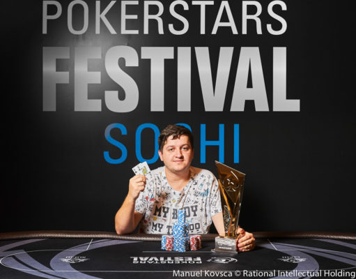 Kiryl Radzivonau campeão do High Roller do PokerStars Festival Sochi