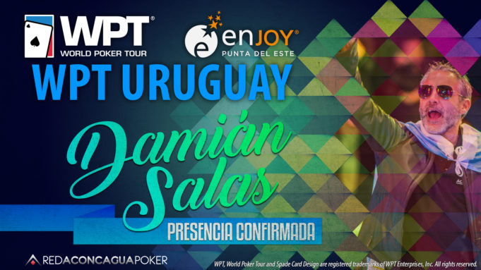 Damian Salas confirmado no WPT Uruguai