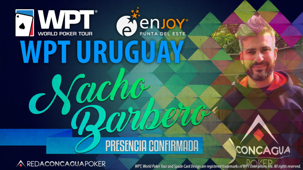 Nacho Barbero confirmado no WPT Uruguai