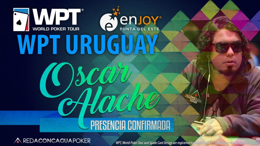Oscar Alache confirmado no WPT Uruguai