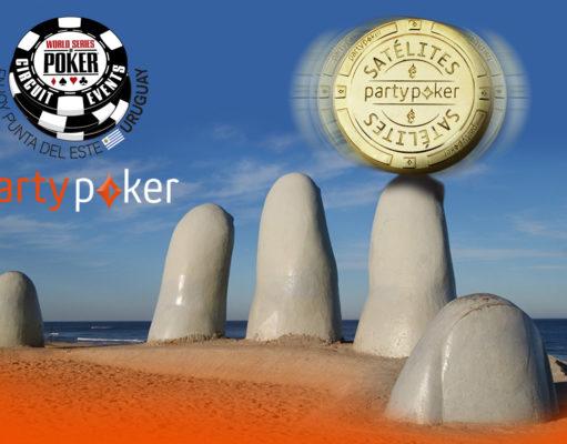 Satelites WSOP Circuit Uruguai no PartyPoker