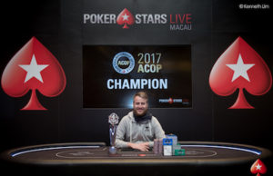 Dietrich Fast campeão do Super High Roller Asian Championship Of Poker
