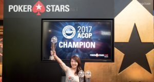 Celina Lin campeã do Ladies Event - Asian Championship of Poker Macau