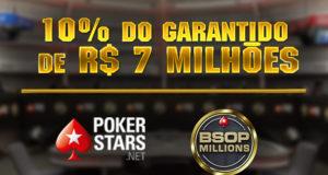 Satélites do BSOP Millions no PokerStars