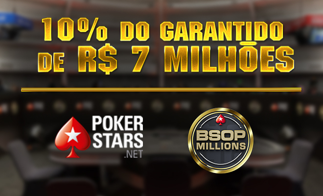 Satélites do BSOP Millions no PokerStars