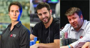 Jeff Gross, Darren Elias e Chris Moneymaker