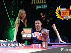 Martin Fuentes - Campeão Super High Roller Casino Iguazú