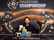 Timothy Adams - Campeão Super High Roller PSC Praga