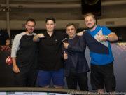 Paulo Gini, Affif Prado, Marcelo Mesqueu e Rodrigo Garrido - Crédito: Carlos Monti