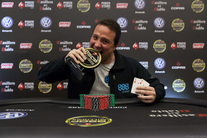 Bruno Foster campeão Turbo 4 Blinds