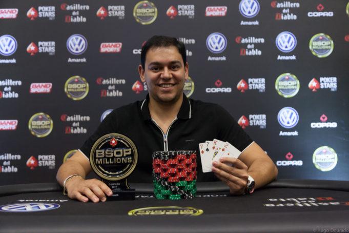 Rafael Teles - Campeão Pot Limit Omaha BSOP Millions