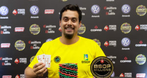 Guilherme Furlan - Campeão Mega Freeroll BSOP Millions