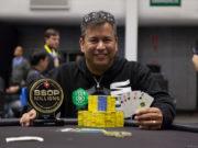 Rogério Siqueira - Campeão 5-Card Draw - BSOP Millions