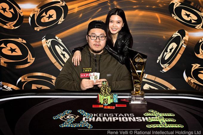 Danny Tang - Campeão do High Roller de € 10.300 - PokerStars Championship Praga