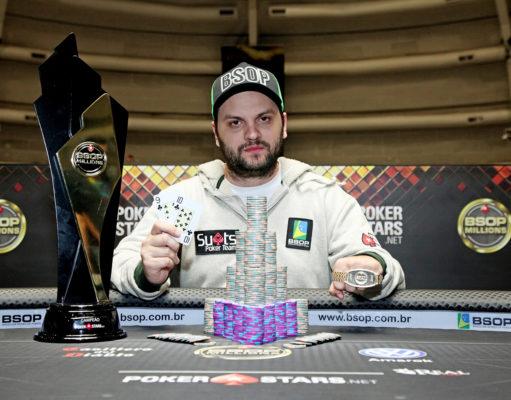 Saulo Sabioni - Campeão Main Event - BSOP Millions