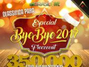ByeBye 2017 - Brasil Poker Live