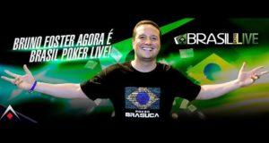 Bruno Foster novo embaixador do Brasil Poker Live