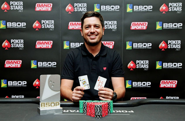 Murillo Figueiredo - Campeão 8-Game - BSOP SP