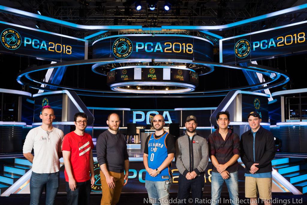 Finalistas do Super High Roller do PCA