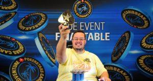 Geraldo Cesar campeão do PokerStars Caribbean Adventure