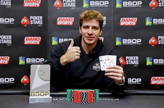 Juliano David - Campeão 6-Handed BSOP São Paulo
