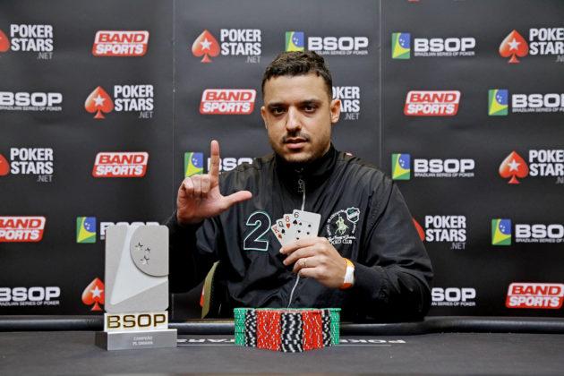Marcelo Rodrigues - Campeão Pot Limit Omaha BSOP São Paulo