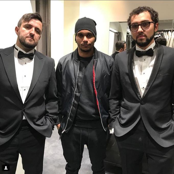 Akkari e Moraes festa do Neymar