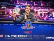 Ben Tollerene campeão do Evento #6 do US Poker Open (Foto: Poker Central)